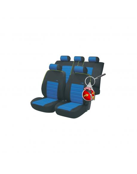 Walser autopotahy SportSpeed Zipp-It - modro černé