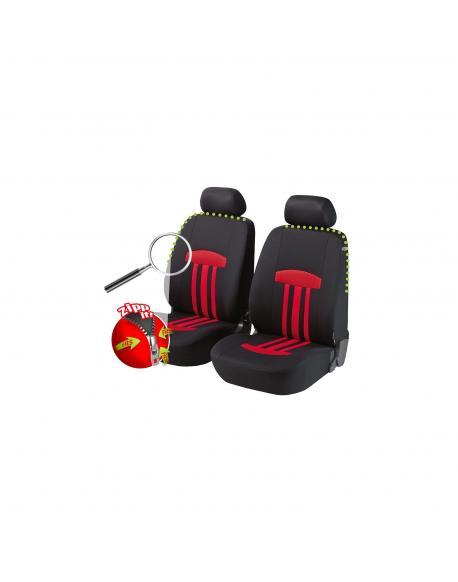 Walser autopotahy Kent Zipp-It - červeno černé