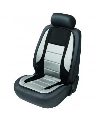 Walser autopotah sedadla vyhřívaný černo-šedý